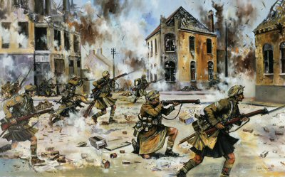 Faster Boys - Give Them Hell! Loos, September 25th 1915 by Jason Askew. (GM)