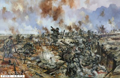 The Battle of the Somme - At the German Trenches by Jason Askew. (GM)