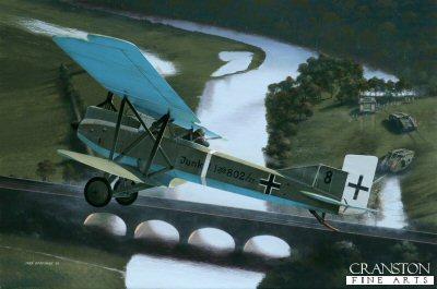 Junkers J.1 by Ivan Berryman.