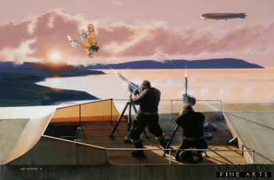 Zeppelin Gunners by Ivan Berryman. (GS)