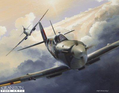 Spitfire Alley by Ivan Berryman. (E)