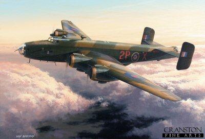 Halifax Mk.III NA337�by Ivan Berryman. (E)