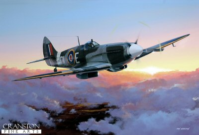 Spitfire F Mk21 by Ivan Berryman.