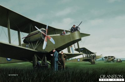 Handley Page 0/400s by Ivan Berryman. (APB)