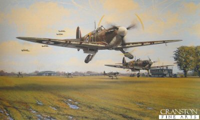 Spitfire Scramble by Philip West.