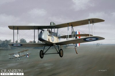 DHM1756. Major Arthur Coningham by Ivan Berryman. <p> Australian by birth and serving with the New Zealand army in the middle east at the outbreak of World War 1, Arthur Coningham joined the RFC in 1917 and was posted to 32 Squadron, flying DH.2s, as depicted here. It was in such a machine that Coningham scored the first of his 14 victories, sending down a German two seater over Ervillers. He survived the war and was made AOC Desert Air Force in 1941 before taking command of 2nd Tactical Air Force until the Second World War&#39;s end whereupon he became Air Marshal and was awarded a knighthood. He died in January 1948. <b><p> Signed limited edition of 20 giclee art prints. <p> Image size 26 inches x 17 inches (66cm x 43cm)