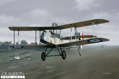 DHM1756PC. Major Arthur Coningham by Ivan Berryman. <p> Australian by birth and serving with the New Zealand army in the middle east at the outbreak of World War 1, Arthur Coningham joined the RFC in 1917 and was posted to 32 Squadron, flying DH.2s, as depicted here. It was in such a machine that Coningham scored the first of his 14 victories, sending down a German two seater over Ervillers. He survived the war and was made AOC Desert Air Force in 1941 before taking command of 2nd Tactical Air Force until the Second World War&#39;s end whereupon he became Air Marshal and was awarded a knighthood. He died in January 1948.  <b><p>Collector&#39;s Postcard - Restricted Initial Print Run of 100 cards.<p>Postcard size 6 inches x 4 inches (15cm x 10cm)