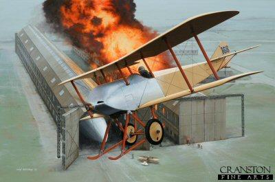 Flight Lieutenant R L G Marix by Ivan Berryman. (APB)