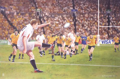 Rugby World Cup Final 2003 by David Pentland. (GS)