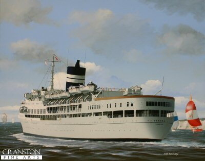 SS Uganda by Ivan Berryman.