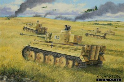 Alfred Rubbel at Kursk by David Pentland.
