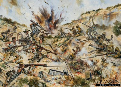 2nd Australian Brigade fighting in Gully Ravine by Jason Askew. (PC)