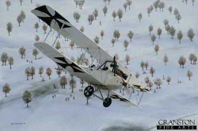Aviatik B.1 by Ivan Berryman. (GL)