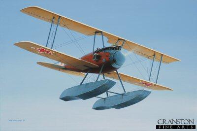 Albatros W.4 by Ivan Berryman. (RM)