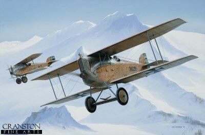 F Korty-Lalitz, Aviatik D.1 by Ivan Berryman.