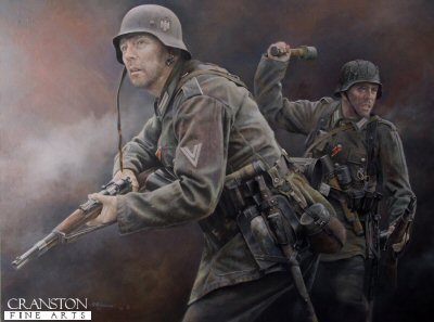 Heer Grenadiers - Operation Citadel, July 1943 by Chris Collingwood. (AP)