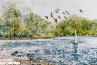 Wee Peter, Loch Lomond near Luss by Robert Barbour. (P)