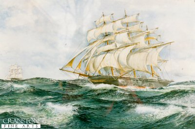Cutty Sark by Robert Barbour. (P)