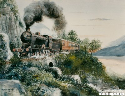 Age of Steam by Robert Barbour. (P)