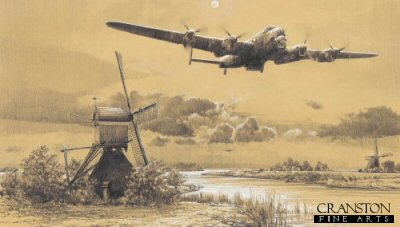 Inbound to Target - The Dambusters by Robert Taylor. (B)