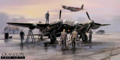 Mosquito Pathfinders by Philip West.