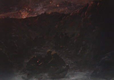 Assault on Mount Longdon by David Cobb.
