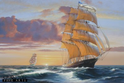 Cutty Sark and Thermopylae by Ivan Berryman. (GL)