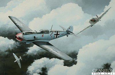 Flt Lt Walter Lawson by Ivan Berryman.