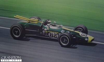 Jim Clark by Ray Goldsbrough.
