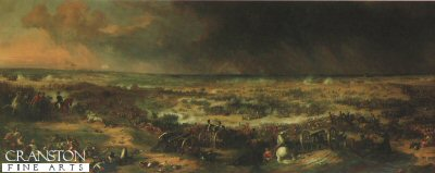 The Battle of Waterloo at 8p.m. by Sir William Allen.