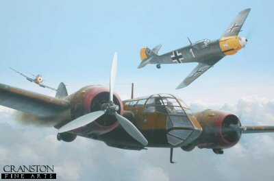 Ltn. Hans-Ekkehard Bob of JG21 Becomes an Ace by Ivan Berryman.