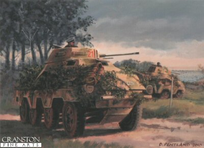 D-Day Recce by David Pentland. (P)