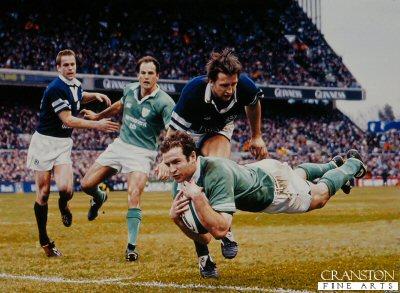 Ireland 2004 Triple Crown by Darren Baker.