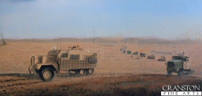 Contact - Helmand Province by Graeme Lothian.