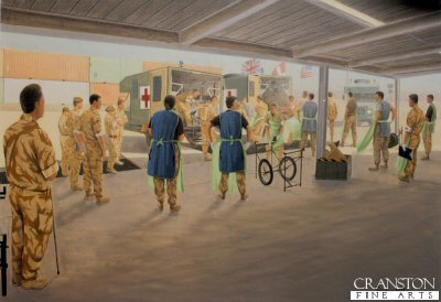 Joint Forces Medical Group by Graeme Lothian. (GS)
