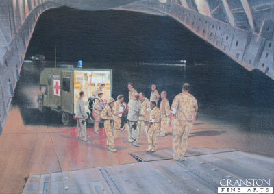 C-CAST, moving casualties from Camp Bastion, Afghanistan for UK Medical Repatriation by Graeme Lothian.