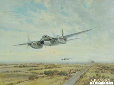 Low Level Strike - 1943 by Gerald Coulson.