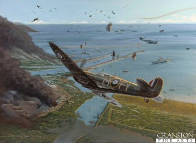Melee Over Dunkirk by Brian Bateman.