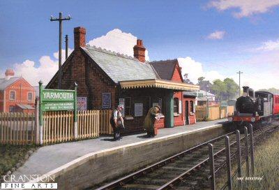 Yarmouth Station by Ivan Berryman.
