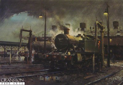 Storm over Southall Shed by Terence Cuneo.