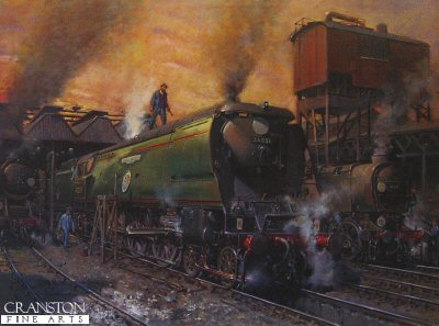 Winston Churchill by Terence Cuneo.