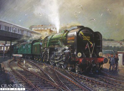 Golden Arrow by Terence Cuneo.