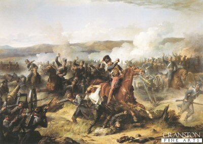 Charge of the Light Brigade by Thomas Jones Barker.