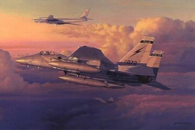 Eagle Intercept by Philip West.