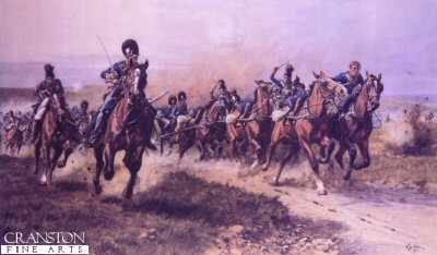 Fuentos Onoro, May 5th 1811 (Ramsays Battery of Horse Artillery) by William Barnes Wollen.