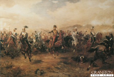 The Charge of the light Brigade by Robert Hillingford. (B)