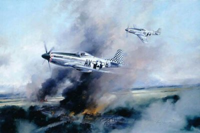 Mustang Recce by Robert Taylor.