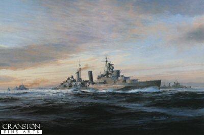 HMS Belfast by Robert Taylor.