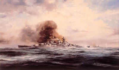 Battleship Bismarck by Robert Taylor