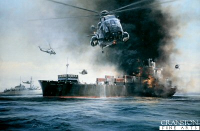 Sea King Rescue by Robert Taylor.